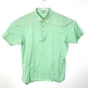 PETER MILLAR Striped Polo Short Sleeve Cotton